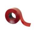 Hőstop hegesztőfüggöny piros színű szalagokból