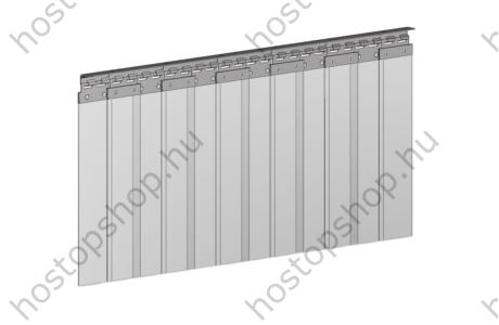 Hőstop függöny 100×2,0 mm-es normál szalagokból