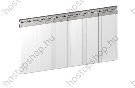Hőstop függöny 200×2,0 mm-es normál szalagokból