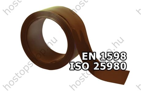 300×2,0 mm-es EN 1598-as bronz hegesztő Hőstop PVC szalag (Ref.322)