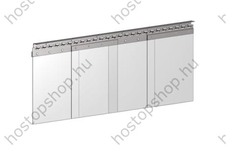 Hőstop függöny 300×2,0 mm-es normál szalagokból