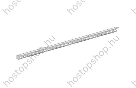 Rozsdamentes acél felfüggesztő sín 1230 mm