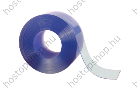 100×2,0 mm-es normál, sima, víztisztán átlátszó Hőstop PVC szalag (50 m)