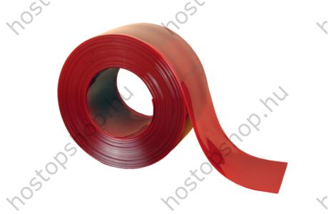 300×2,0 mm-es anti UV piros hegesztő Hőstop PVC szalag (50 m)